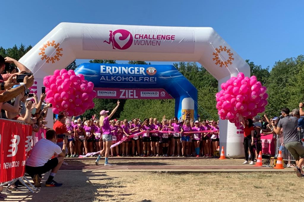 """Pure emotions and hot weather at """"Challenge Women"""" - DATEV Challenge"""